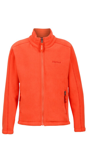 Marmot Lassen Fleece Girls Emberglow